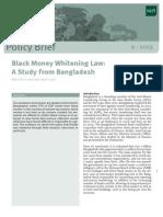 Black Money Whitening Law