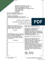 Bank Julius Baer & Co. Ltd. et al v. Wikileaks et al - Document No. 11