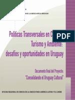 Politicas trasnversales en Cultura