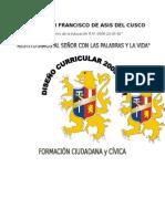Secundaria Formacion Ciudadana Diseno Curricular