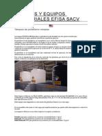Tanques y Equipos Industriales Efisa Sacv