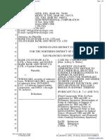 Bank Julius Baer & Co. Ltd. et al v. Wikileaks et al - Document No. 19