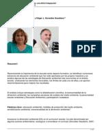 Artà Culo Educacion Ambiental y Escuela Una Dificil Integracion