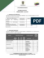 Informes Ips Caprecom Arauca Enero-julio 2011