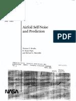 Nasa Airfoil Noise