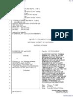 The Facebook, Inc. v. Connectu, LLC et al - Document No. 313