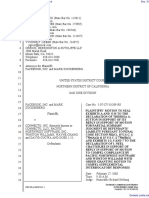The Facebook, Inc. v. Connectu, LLC et al - Document No. 313