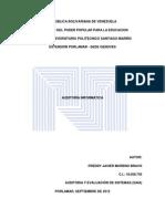 Tipos de Auditoria Informatica