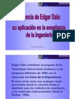 Experiencia de Edgar