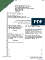 Bank Julius Baer & Co. Ltd. et al v. Wikileaks et al - Document No. 34