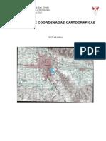 Lectura de Coordenadas Cartograficas