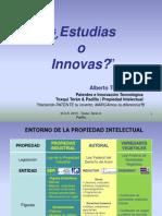¿Estudias o Innovas?
