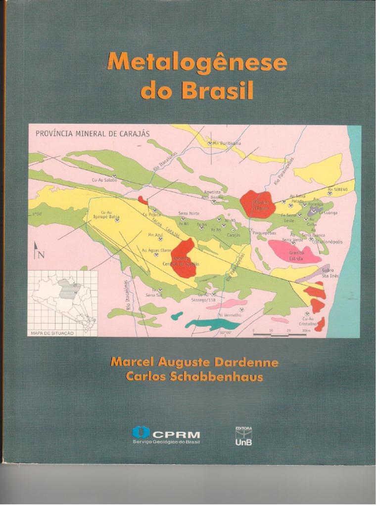 Livro metalogenese do brasil 2011 fandeluxe Image collections