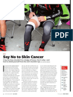 say no to skin cancer
