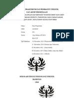 Laporan Praktikum Zat Pembantu Tekstil