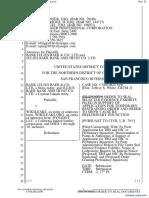 Bank Julius Baer & Co. Ltd. et al v. Wikileaks et al - Document No. 51