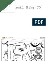 "Harvey Beaks ""The Rentl Bike"" Storyboard Section"