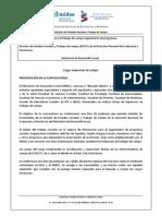 Convocatoria Supervisores MIDES