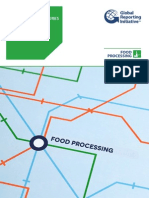 GRI G4 Food Processing Sector Disclosures