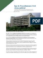 Noticia Nuevo Código de Procedimiento Civil Regirá El Sistema Judicial