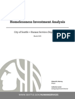 Homeless Investment Report