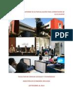 Informe de Autoevaluación para Acreditación de Alta Calidad - Maestría en Economía Aplicada, Universidad del Valle