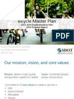 Seattle Bicycle Master Plan