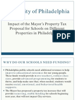 Property Tax Incrase for Schools