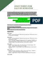 Hist 3150 Presentation Topics