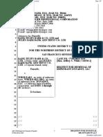 Bank Julius Baer & Co. Ltd. et al v. Wikileaks et al - Document No. 57