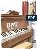 Tchokov-gemiu, Iniciacion Al La Musica