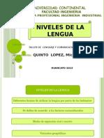 Nivele s Del a Lengua