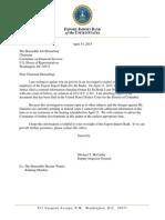 IG Letter to Hensarling 041415