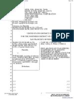 Bank Julius Baer & Co. Ltd. et al v. Wikileaks et al - Document No. 78