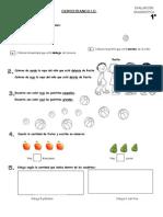 Evaluacion de DIAGNOSTICO del 1º al 6º.doc