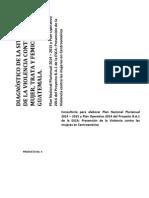 Diagnóstico de La Situación de La Violencia Contra La Mujer Trata y Femicidio en Guatemala Producto 4 Jv
