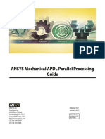 ANSYS Mechanical APDL Parallel Processing Guide