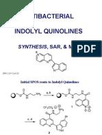 Quinolyl Indoles