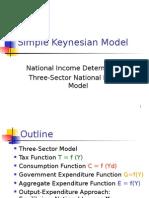 Three-sector Model (1)