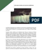 Consecuencias del cambio climático en la provincia de Misiones