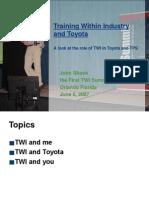 Shook TWI Summit Keynote 2.0.ppt
