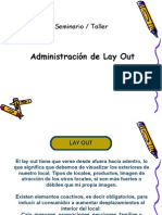 Lay Out Administración Retail