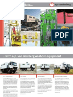 van den berg Product Brochure