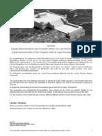 Koster Digitale Rekonstruktion Des Poseidon-Altars Von Kap Monodendri