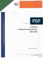 EVENTOS HIDROMETEOROLOGICOS