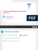 Soluciones Sector Salud - Julio2014