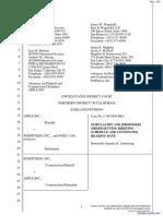 Apple Computer, Inc. v. Podfitness, Inc. - Document No. 107