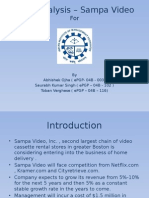 101409331 Sampa Video Case Analysis Submission by Abhishek Ojha EPGP 04B 003 Saurabh Singh EPGP 04B 102 and Toban Varghese EPGP 04B 116