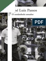 O Sonambulo Amador - Jose Luiz Passos