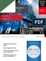 immunity to change slides updated march 25v7